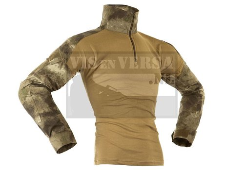 Invader Gear Combat Shirt - Stone, A-TACS AU