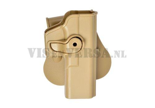 IMI Defense Glock 17/22/28/31 Holster links handig - Coyote Tan