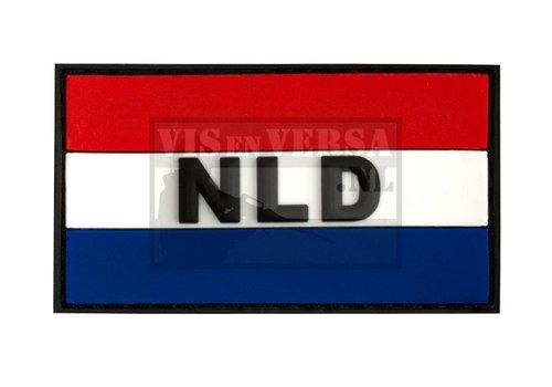 Kautschuk Badge - niederländische Flagge