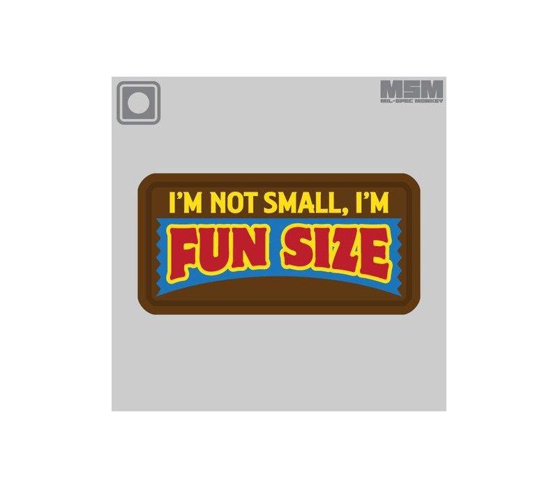Fun Size PVC patch