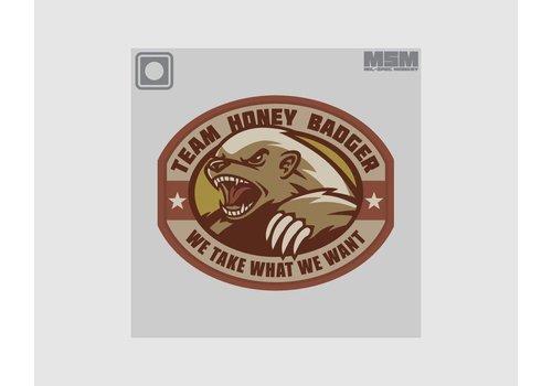 MilSpec Monkey Honey Badger PVC - Desert