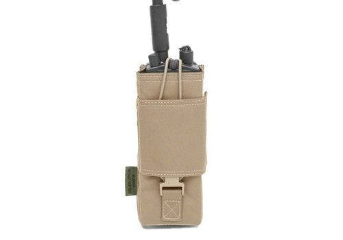 Warrior Elite OPS MITR Radio Gen1 Pouch - Coyote Tan