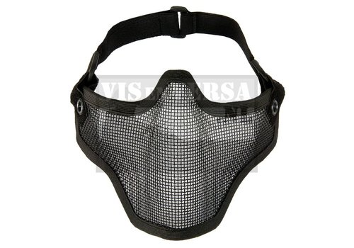 Invader Gear Steel Half Mask - Black