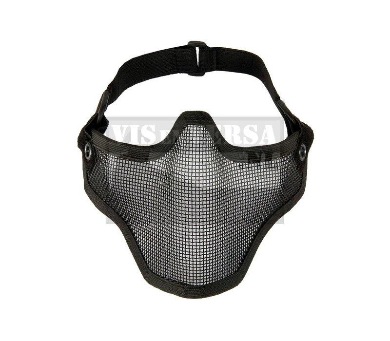 Steel Half Mask - Black