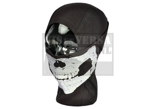 Invader Gear MPS Death Head Balaclava - Black