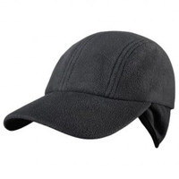 Yukon Fleece Hat - Black