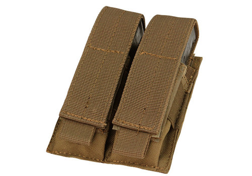 Condor Double Pistol Mag Pouch - Coyote Brown