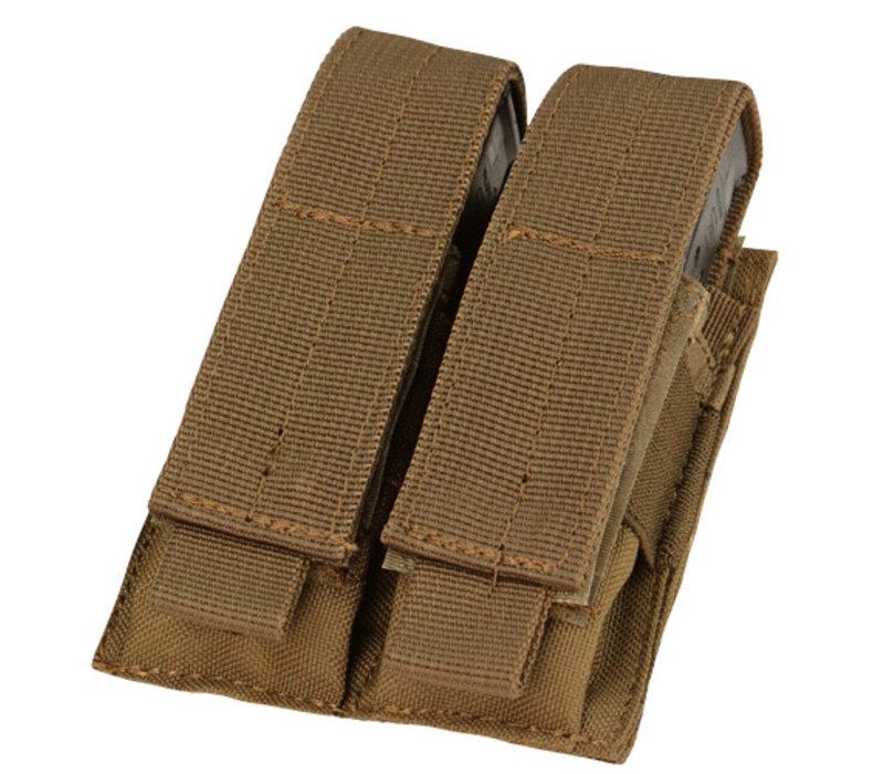 MA23 Double Pistol Mag Pouch - Coyote Brown