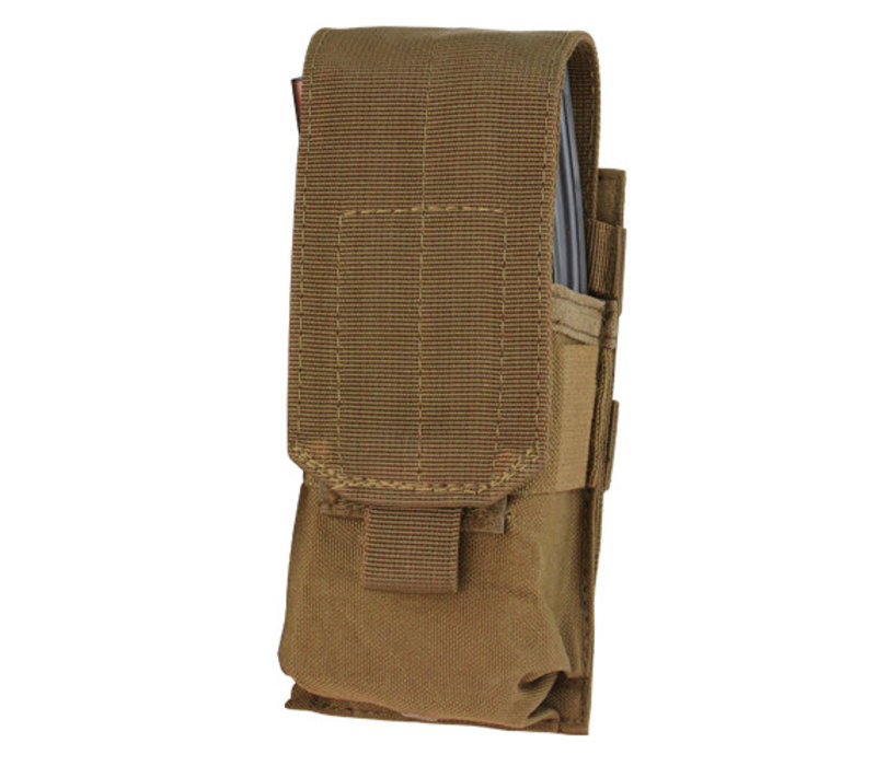 MA5 Single M4 Mag Pouch - Coyote Brown