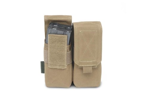 Warrior Elite OPS Double M4 5:56 Pouch - Coyote Tan