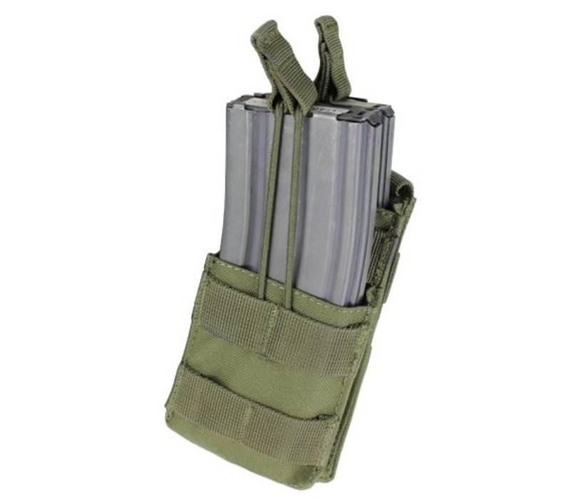 MA42 Single Stacker M4 Mag Pouch - Olive Drab