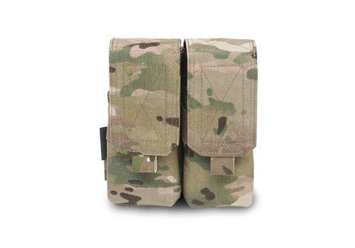 Warrior Elite OPS Double 5.56 M4 Pouch - MultiCam