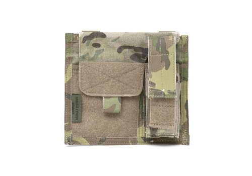 Warrior Large Admin Panel w Pistol Pouch - MultiCam