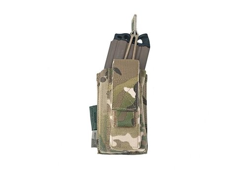 Warrior Single Open 5.56 Mag & 9mm pouch - MultiCam