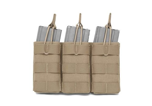 Warrior Open 5:56 Triple Mag Bungee Retention - Coyote Tan