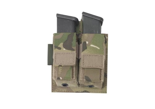 Warrior Elite OPS Direct Action Double 9mm Pistol Pouch - MultiCam