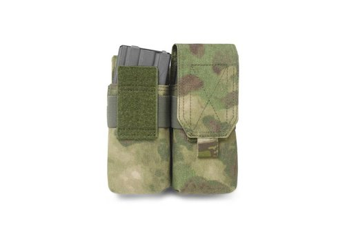 Warrior Elite OPS Double M4 5:56 Pouch - A-TACS FG