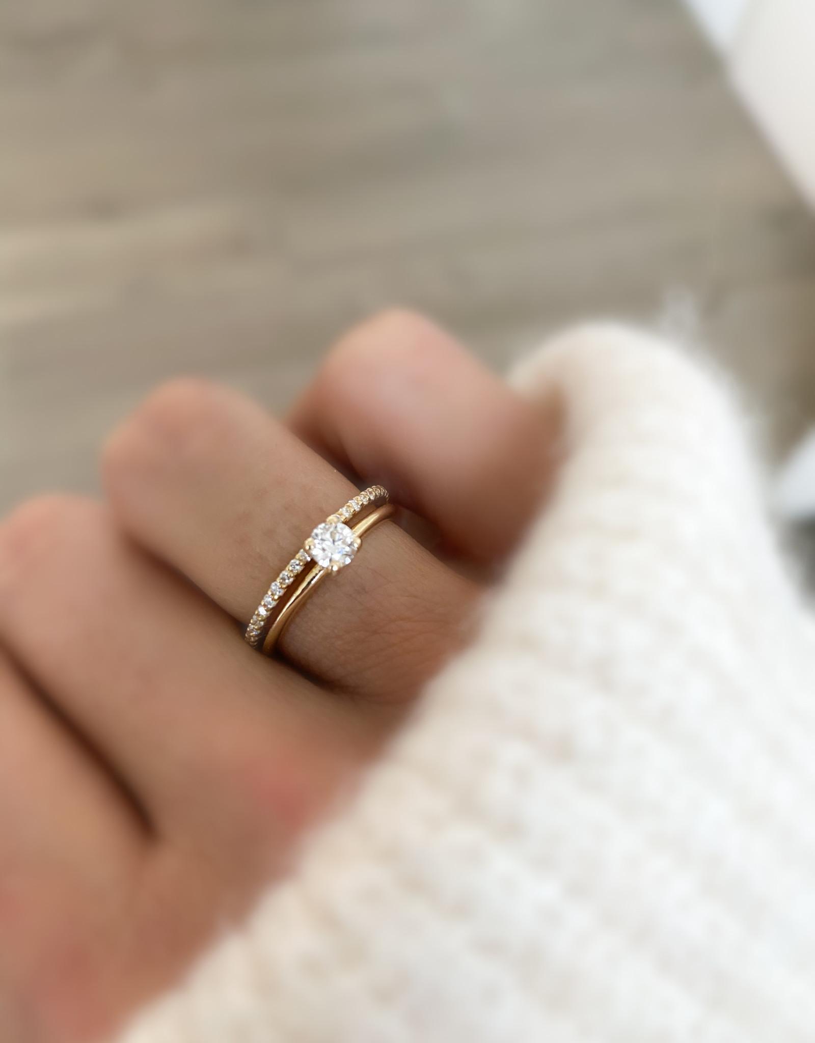 Atelier Maison The One - geel goud - diamant