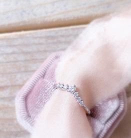 Atelier Maison The Crown  - wit goud - diamant