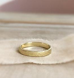 Atelier Maison Mannenring 1 -  geel en rosé goud - 3mm