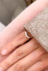 Atelier Maison The Fine Bow - geel, wit & rosé goud - diamant