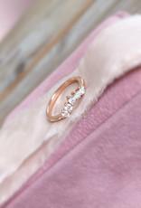 Atelier Maison Maat 48 - No.18 - The Fine Bow -14 karaat  rosé goud - diaman