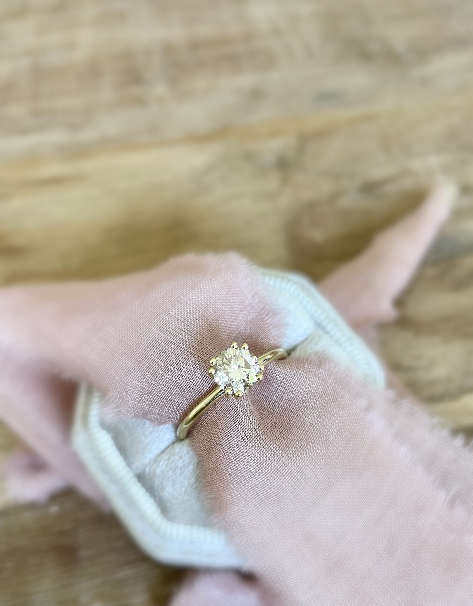 Atelier Maison Maat 54 - No.67 - The Big Sunset Lover - 18 karaat geel goud - Champagne Diamant