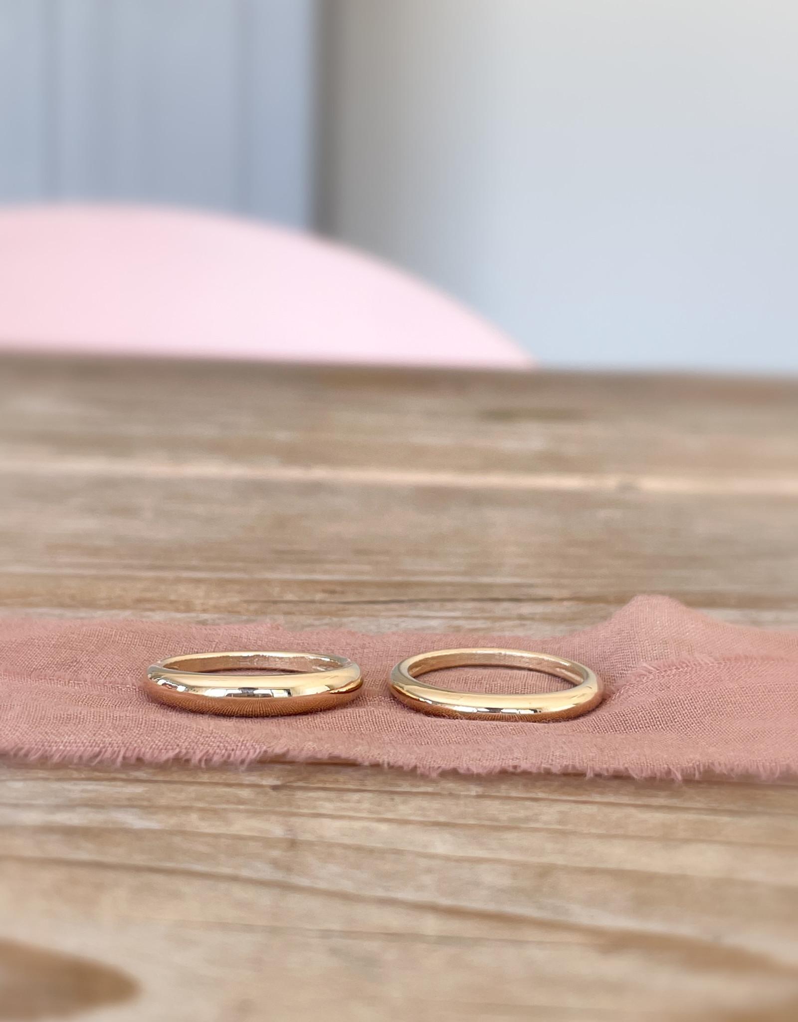 Atelier Maison The Bold One - geel, wit en rosé goud