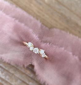 Atelier Maison Joyful - geel, wit en rosé goud - diamant