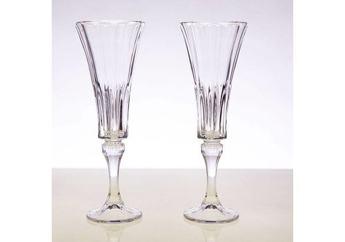 Wellington Champagne Flutes, set of 2