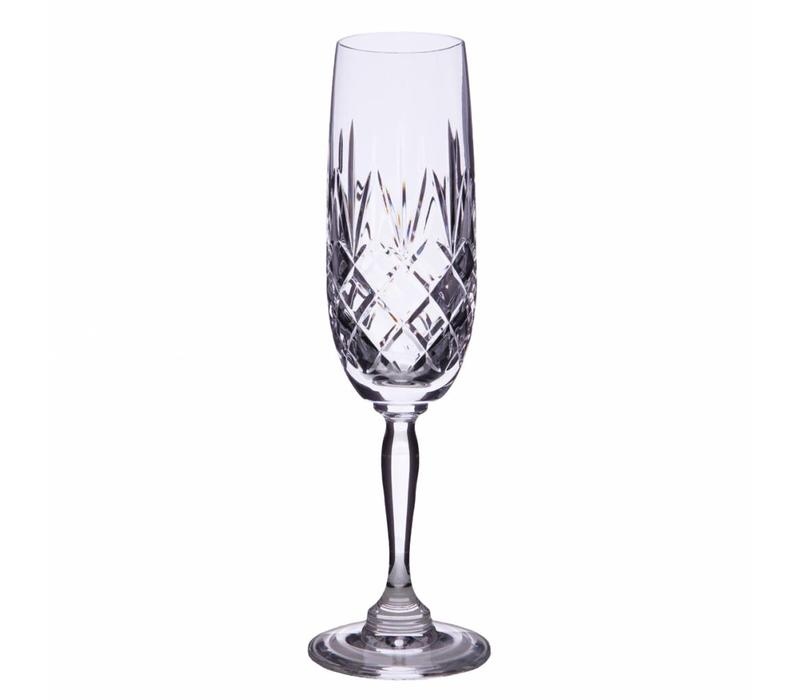 Victoria Crystal Champagne Flutes, set of 2