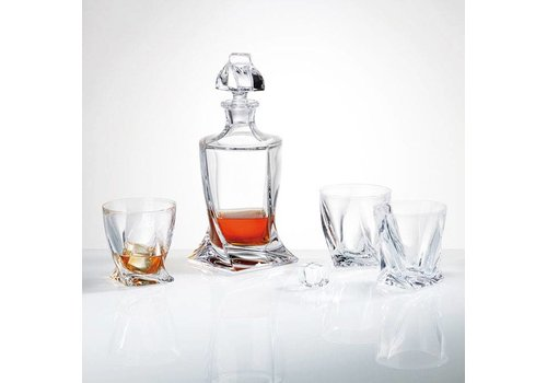 Twist Crystal Whiskey Set