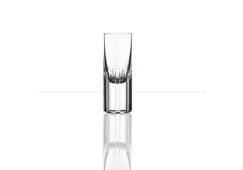Bomma  Splined Shaft shot glasses by Studio Koncern Design, set of 2