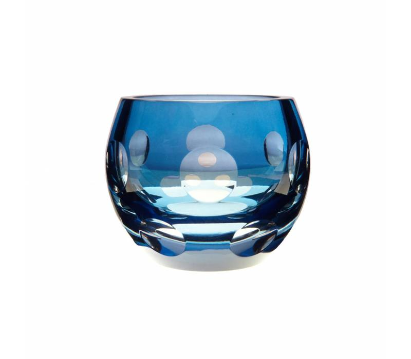Sky Blue Tealight Candle Holder