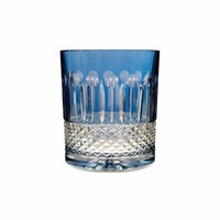 Rainbow Sky Blue Double Old Fashioned, set of 2