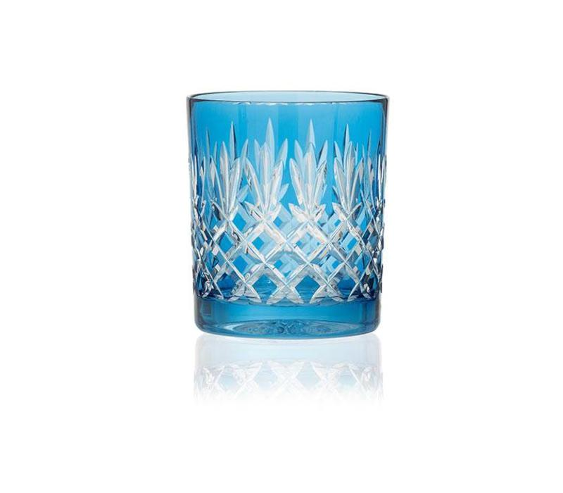 Pineapple Sky Blue Tumblers, set of 2