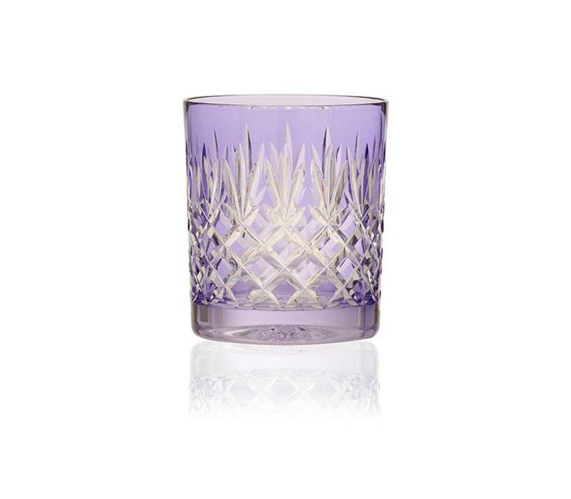 Pineapple Lavender Double Old Fashioned Tumbler