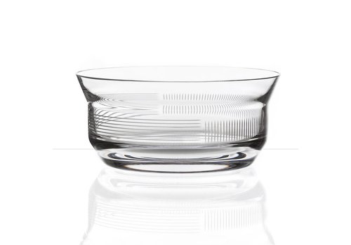 Bomma  Lines crystal bowl
