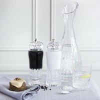 Gurasu Exclusive Salt and Pepper Crystal Grinders, pair