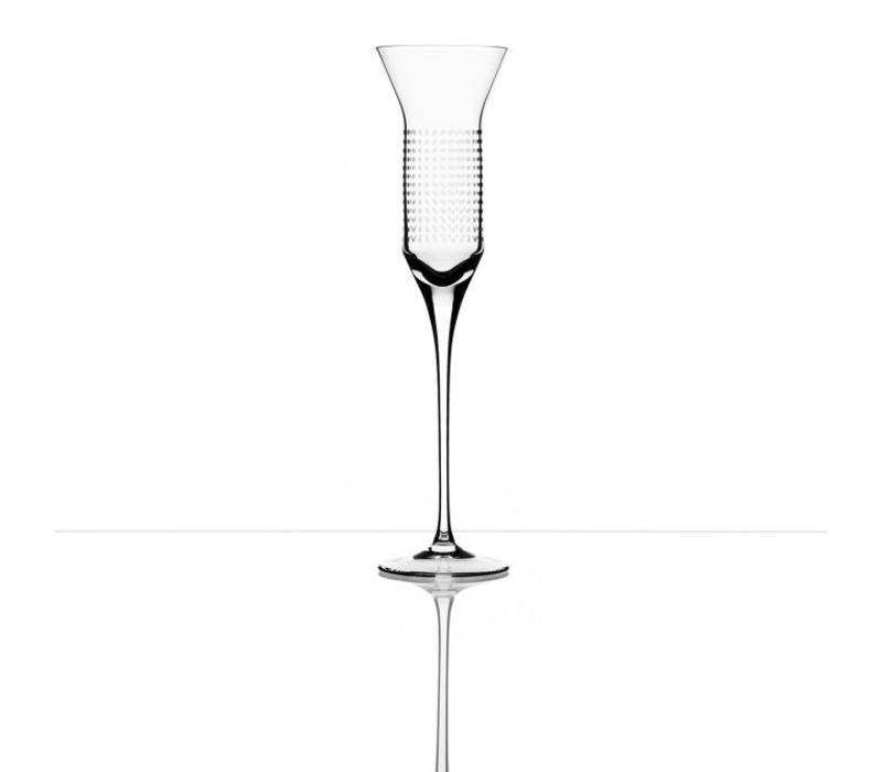 Bomma Dots Champagne Flute 150ml, Set of 2