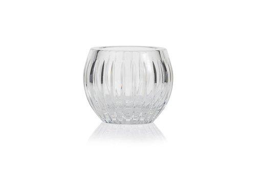 Gurasu Crystal  Shining Star Clear Crystal tealight votive / vase
