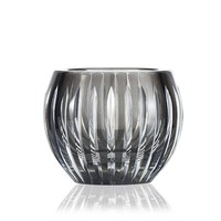 Shining Star Smoke Crystal tealight votive / vase
