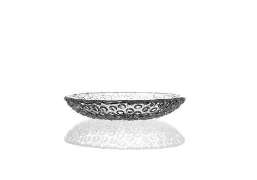 Bomma  Bubble Crystal small plate,15.5cm, pair