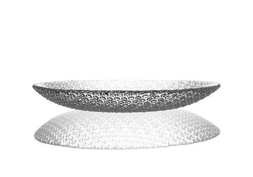 Bomma  Bubbles Large Crystal Plate, 34cm