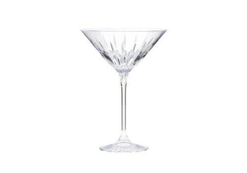 Gurasu Crystal  Diamante Martini Crystal Glasses, set of 2