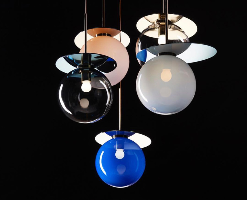 Umbra pendant lamps by Bomma