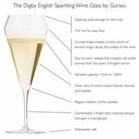 THE DIGBY ENGLISH SPARKLING WINE GLASS™ GIFT SET