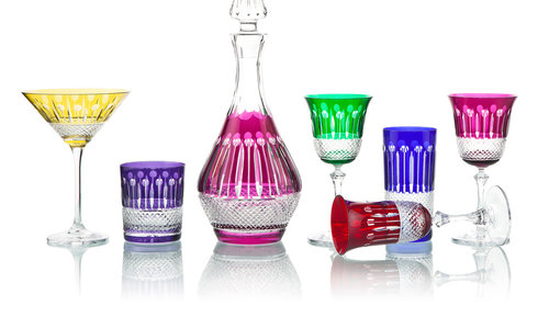 Crystal decanters, a choice for the  luxury gift