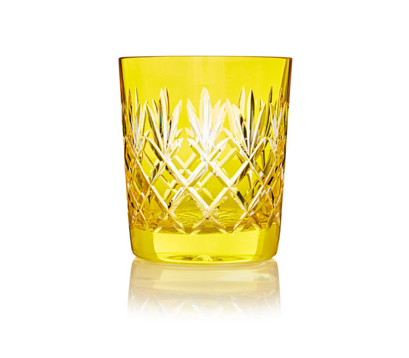 Pineapple Lemon  Double Old Fashioned Tumbler