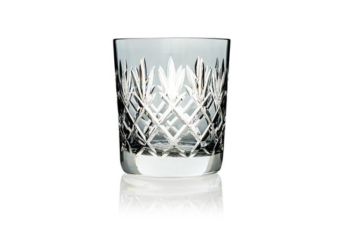 Gurasu Crystal  Pineapple Light Grey Double Old Fashioned Tumbler